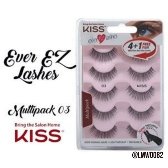 9d6a76051fc Kiss Makeup | Ever Ez Lashes Multipack 03 5 Sets | Poshmark